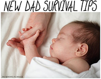 Some helpful tips for new dads