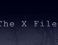 The X Files Title Sequence