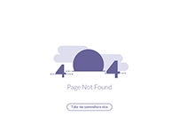 Daily UI | #008 | 404 Page