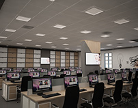 call center offices design