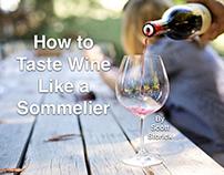 Scott Storick Talks How to Taste Wine Like a Sommelier