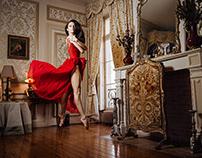 A Ballerina inside the Château Pape Clément!