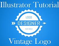 Illustrator Vintage Logo Tutorial