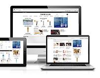 Vanilla Website