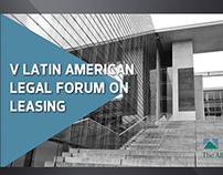V Latin American Legal Forum on Leasing