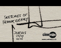 HBO LAG - Cinemax Promo Campaign Sketches Frank Gehry