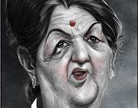 Caricature of Indian Celebrities