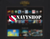 [Website Design] Navyshop - Shop game thủ