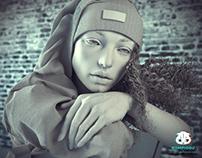 WIP 3d realistic girl