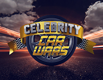 Celebrity Car Wars Graphic Packaging