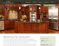 TBL Construction Website Design & Development