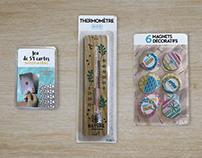 Packaging pour les collections CDM