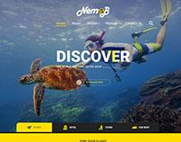Mockup Webdesign Nemob
