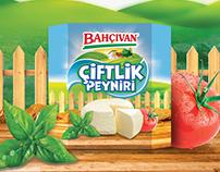 Bahçıvan Çiftlik Peyniri Cheese/ Packaging Design