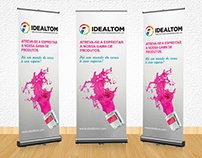 Design para rollup | Idealtom