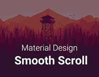 Material Design Smooth Scroll