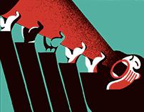 Illustration for La Directa web.