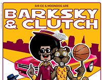 Cavs Barksky & Clutch Poster