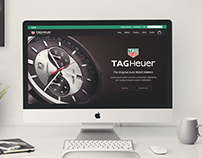 Tag Heuer Homepage Redesign