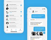 Telegram UI Redesign
