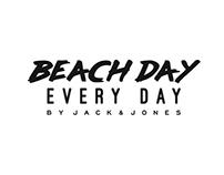 Beach Day Every Day by Jack & Jones logo design
