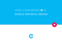 Public Dashboard UI in Google Material Design