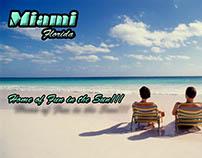 Miami Florida Mock-up