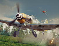 BF109 G - Scramble attack