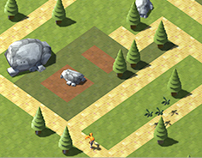 Tower Defence Game Environment Design