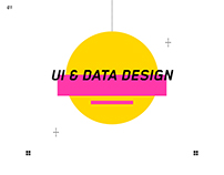 UI & Data Design