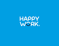 Brand Identity - HAPPY WORK
