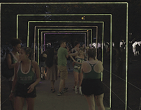 Shaky Beats LED Tape Tunnel