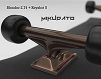 My 3D skateboard!