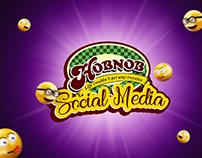 Hobnob Bakery Social Media