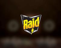 Raid Print Ads
