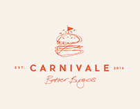 Carnivale Burger - Branding and Packaging