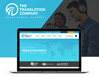 Professional Translation Services company home page