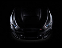 Ford Mustang GT (Commercial photo shoot)