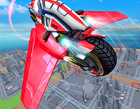 ultimate flying bike post