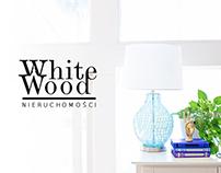 White Wood branding design