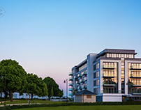 Architectural photography - luxury development