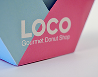 LOCO Donut Shop | Packaging Design
