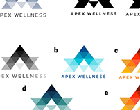 Apex Wellness Logo Design