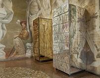 Striking Methacrylate Cabinet Design by Edra Scrigno