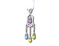 Multi-color Gemstones Earrings