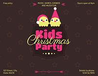 Kids Christmas Party | Modern and Creative Templates