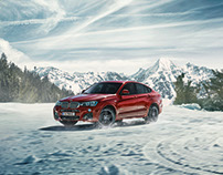 BMW X4 Aftersales Banner