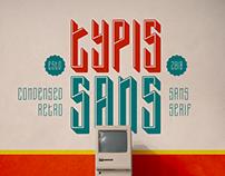 Typis Sans Layered Font