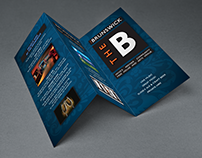 The Brunswick promotional tri-fold leaflet