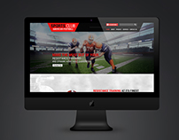 WEBSITE UX (Sports)